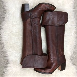 Frye Tall Jane Cuff Boots